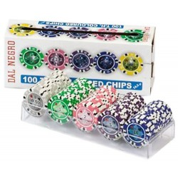 100 T.H. COLOURED CHIPS - 2471 24704