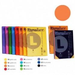 RISMALUCE FAVINI A4 140GR 200FF ARANCIO