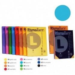 RISMALUCE FAVINI A4 140GR 200FF AZZURRO
