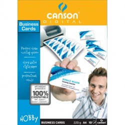 BUSINESS CARDS CANSON 10F A4 220G -