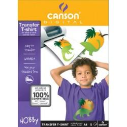 CARTA CANSON T-SHIRT TRANSFER 5F A4 140G