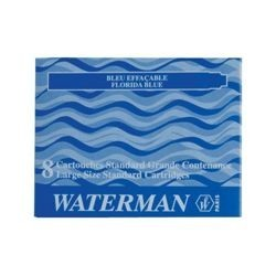 CARTUCCE WATERMAN 8PZ. NERO - S0110850