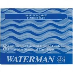 CARTUCCE WATERMAN 8PZ. BLU - S0110860