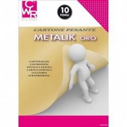 CARTONE METALLIK ORO 320GR 23X33