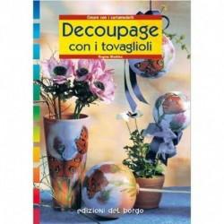 LIBRO DECOUPAGE CON TOVAGLIOLI - 08211