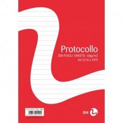 FOGLI PROTOCOLLO 60GR 1R 200FF. - 1405
