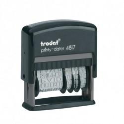 TRODAT POLINOME + DATARIO 4817 -  TR4560