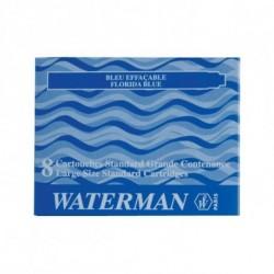 CARTUCCE WATERMAN 8PZ. BLU - S0110910