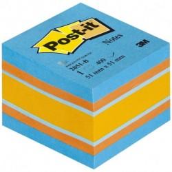 CUBO POST-IT 3M 2051-B COLORI PASTELLO