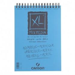 ALBUM CANSON XL MIX MEDIA A4 300GR SPIRA