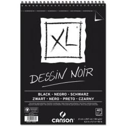 ALBUM CANSON XL NERO A4 150GR SPIRALATO