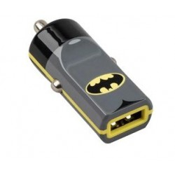 CARICABATTERIE PER AUTO USB BATMAN