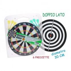BERSAGLIO DARDI C/FRECCETTE 30CM - 50010