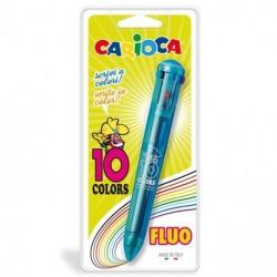 PENNA CARIOCA 10 COLORI FLUO - 41500