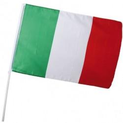 BANDIERA ITALIA 60X90 CON ASTA