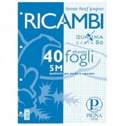 RICAMBI PIGNA A4 5M 80GR - 0062903
