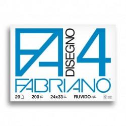 ALBUM DISEGNO FABRIANO F20 4 RUVIDO A4