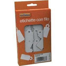 ETICHETTE CON FILO 200PZ 18X28MM
