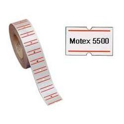 21X12 PERMANENTE MOTEX 5500 ETICHETTE