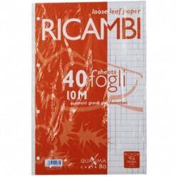 RICAMBI PIGNA A4 10MM 80GR - 0062903