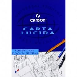 BLOCCO CANSON LUCIDO A4 10F 80GR