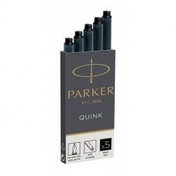CARTUCCE PARKER QUINK 5PZ NERO - 1950382