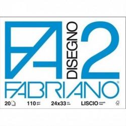 ALBUM DISEGNO FABRIANO 2 RIQUADR. A4