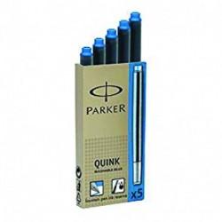 CARTUCCE PARKER QUICK 5PZ BLU - S0116210