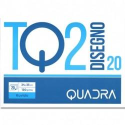 ALBUM DISEGNO TQ2 F20 24X33 RUVIDO 110GR