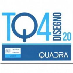 ALBUM DISEGNO TQ4 F20 24X33 LISCIO 220GR
