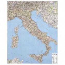 CARTA ITALIA 1:1.000.000 98X129