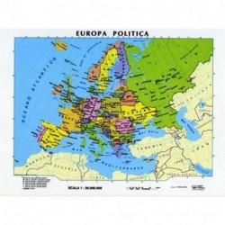 CARTA EUROPA SCOLASTICA 1:5.500.000