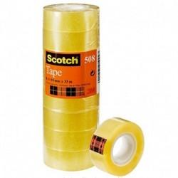 ADESIVO 3M SCOTCH 508 H15X33M 10PZ