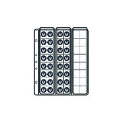 10 BUSTE SVAR VENERE P/MONETE 2,5X2,5 48