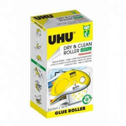 COLLA UHU DRY&CLEAN ROLLER REFILL