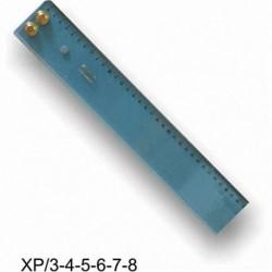 RIGA PARALLELOGRAFO 80CM LEXIGLASS- XP/6