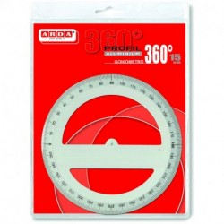 GONIOMETRO 360/15 IN ALLUMINIO ARDA