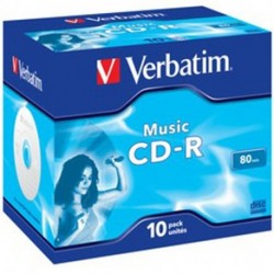 CD-R MUSIC 80 MINUTI JEWEL - 43365