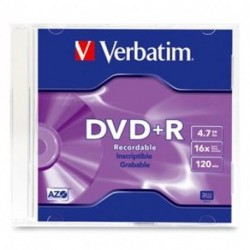 DVD+R CF. 10 PZ. VERBATIM JEWEL CASE 16X