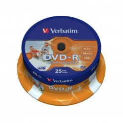 DVD-R CAMPANA 25 PZ. VERBATIM SPINDLE