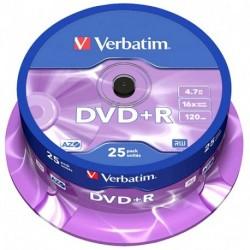 DVD+R CAMPANA 25 PZVERBATIM SPINDLE 16X