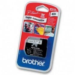 BROTHER NASTRO NERO/BIANCO - MK221BZ