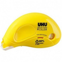 COLLA UHU DRY&CLEAN ROLLLER NON