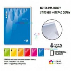 BLOCCO NOTES BM A5 15X21 5MM 70F.DERBY -