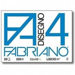 ALBUM DISEGNO FABRIANO F20 4 LISCIO A3