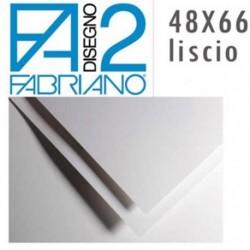 CARTONCINI FABRIANO 2 LISCIO 48X66 110GR