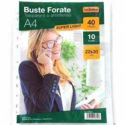 BUSTE FORATE ANTIRIFLESSO CF.10 22X30