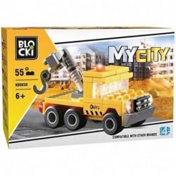 BLOCKI  MYCITY 55PZ 6+ - KB8038