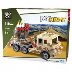 BLOCKI MYARMY 210PZ 6+ - KB84025