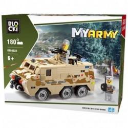 BLOCKI MYARMY 180PZ 6+ - KB84026